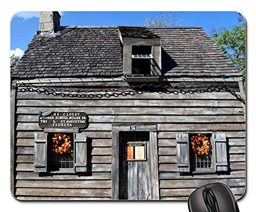 Mouse Pads - Oldest Wooden Schoolhouse School Historic