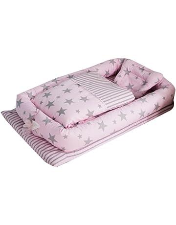 Cuna de bebé con edredón desmontable cama de bebé aislada recién nacido bebé dormir artificial plegable