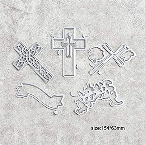 7pcs//lot Christmas Metal Cutting Dies Scrapbooking Stencil Card Embossing Craft