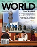 img - for WORLD, Volume 2 (with Review Cards and CourseMate, 1 term (6 months), Wadsworth World History Resource Center 2-Semester Printed Access Card) (Available Titles CourseMate) book / textbook / text book