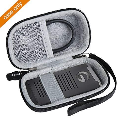Aproca Hard Travel Case Bag for G-Technology 1TB 2TB 500GB G-Drive Mobile SSD/SanDisk 500GB 250GB 1TB 2TB Extreme Portable SSD