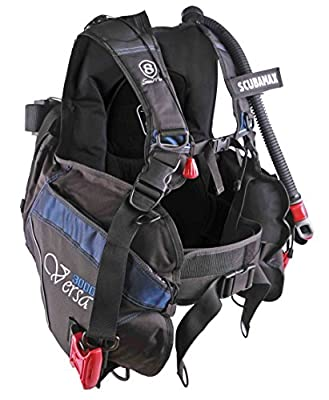 ScubaMax Versa Scuba Diving Travel BCD Scuba Max BC-3000 Buoyancy Compensator