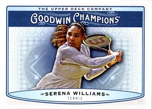 2018 UD GOODWIN CHAMPIONS SERENA WILLIAMS #60