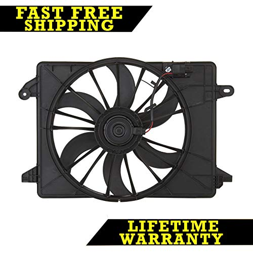 Radiator Condenser Cooling Fan For Chry Fits Charger Challenger Ch3115169