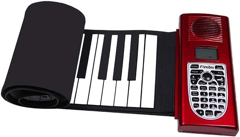 TD Roll Up Electronic Piano 61 Teclas Piano De Teclado ...