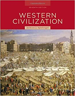 Western civilization 7th edition by spielvogel jackson j 2008 western civilization 7th edition by spielvogel jackson j 2008 hardcover amazon books fandeluxe Images