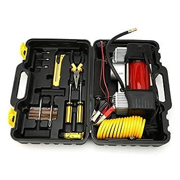 Sairis 12V 150 PSI Kit de compresor de aire de neumáticos para camionetas 4x4 de emergencia