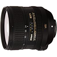 Nikon AF-S FX NIKKOR 24-85mm f/3.5-4.5G ED Vibration Reduction Zoom Lens with Auto Focus for Nikon DSLR Cameras - White Box (New)