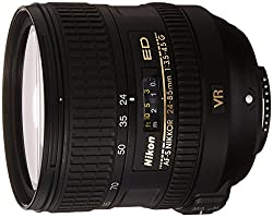 Nikon Af-s Fx Nikkor 24-85mm F3.5-4.5g Ed Vibration Reduction Zoom Lens With Auto Focus For Nikon Dslr Cameras