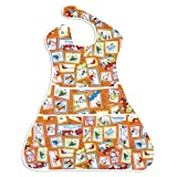 Bumkins Waterproof Supersized SuperBib, 6 - 24 Months, Dr. Seuss Green Eggs