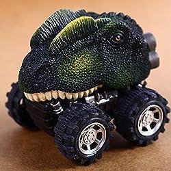 Car Dinosaur Model MiniToysVarious Shapes Children Creative Gift,Pullback Dinosaur Cars Kids Toy Big Tire WheelToy Gifts for Children from Skine