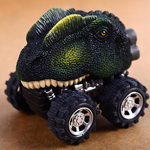 車恐竜モデル ミニ玩具 様々な形 子供用 クリエイティブギフト プルバック 恐竜 車 子供 おもちゃ 大きなタイヤ ホイール おもちゃ ギフト Skine