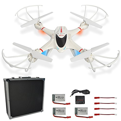 Headless Quadcopter Portable Aluminum batteries product image