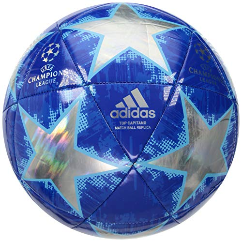 (adidas F1806LSB055TC Finale18 Champion's League Top Training Soccer Ball, Multicolor, Size 5)