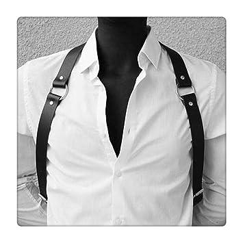 Z-one 1 Cross-Back con cuero, ajustable para hombres y mujeres ...