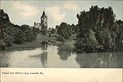 Cave Hill Cemetery - Chapel Louisville, Kentucky Original Vintage Postcard