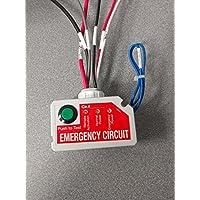 1- USED FINE Wattstopper ELCU-200 Emergency Lighting Cnotrol Unit Power Pack -White by Watt Stopper