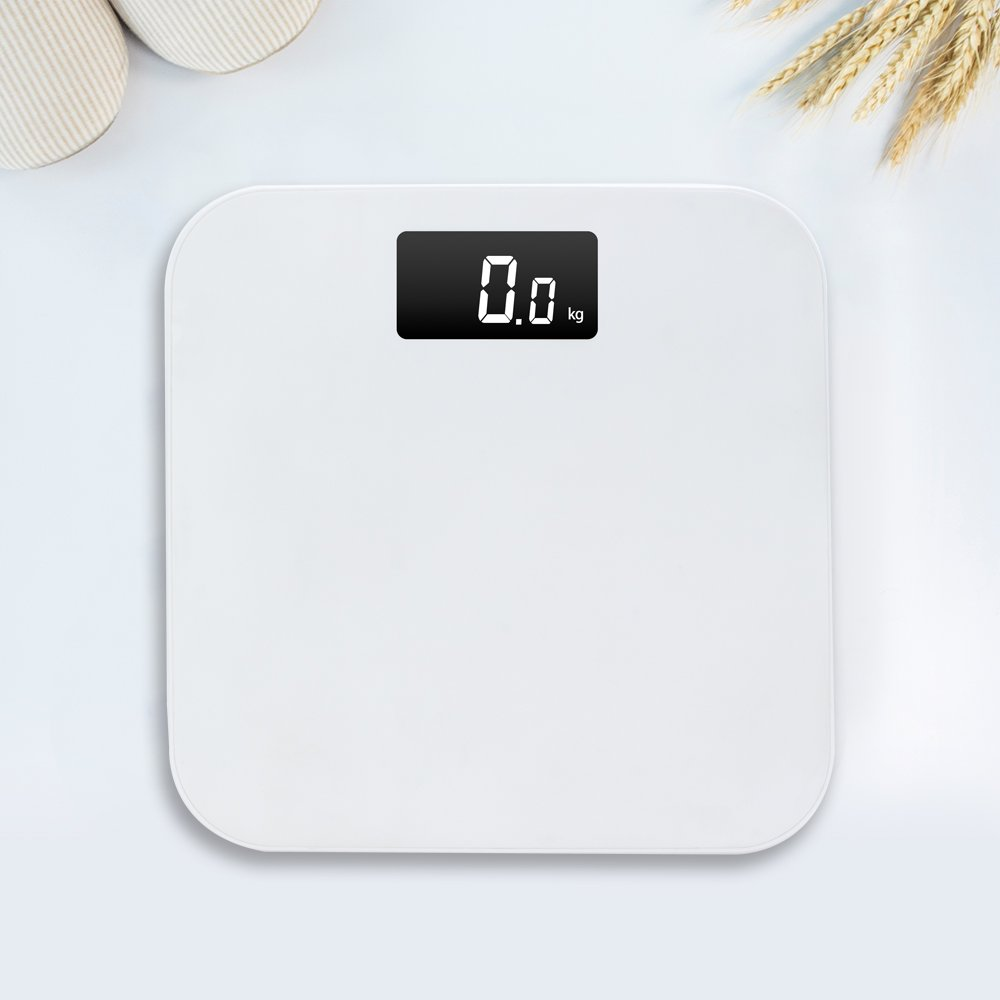 LUOYIMAN High Precision Digital Body Weight Scale Easy to Clean (White)