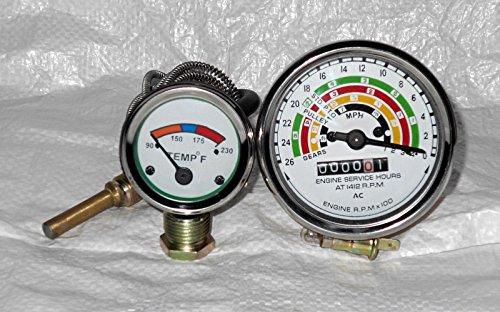 FORDSON DEXTA/SUPER DEXTA/FORD DEXTA Temperature Gauge and Tachometer -  vardia enterprises, 957E10883,957E17360A