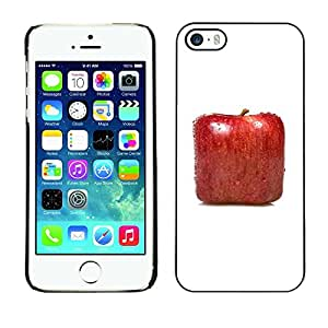 Be Good Phone Accessory // Dura Cáscara cubierta Protectora Caso Carcasa Funda de Protección para Apple Iphone 5 / 5S // Square Apple