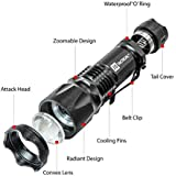 J5 Tactical J5-V2 750 Lumen Flashlight, Black