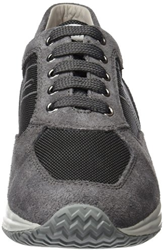 Geox anthracitec9004 Lenkkarit U top Art Men's G G U Taidetta Grey Matala Harmaa Miesten Onnellinen Sneakers top anthracitec9004 Low Blue Happy Sininen Geox rHrBPqW