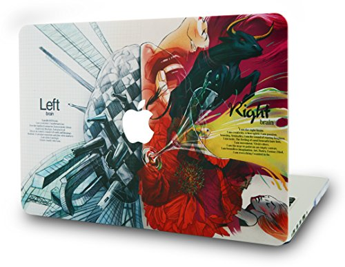 LuvCase MacBook Pro 13 Case 2017 & 2016 Plastic Hard Shell Cover for MacBook Pro 13.3