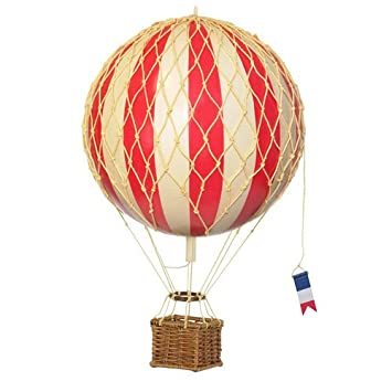 hot air balloon home decor authentic models floating the skies color red - Amazon Home Decor