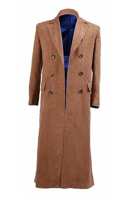 Amazon.com: Trust disfraz café Largo chamarra Trench: Clothing