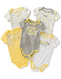 Calvin Klein Baby Girls' Assorted Short Sleeve Bodysuit...
