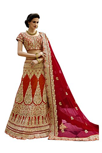 SEs Indian Women Designer Wedding Bridal maroon Lehenga Choli K-3756-3143