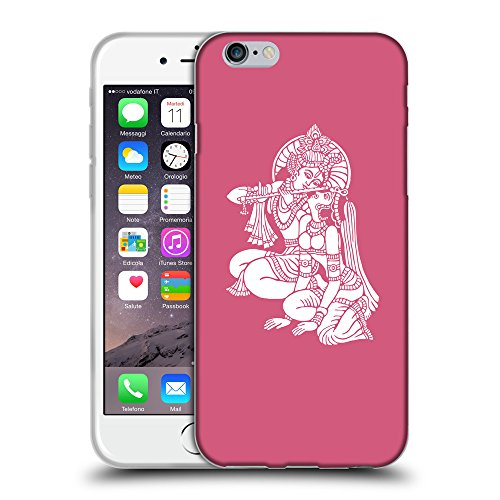 "GoGoMobile Coque de Protection TPU Silicone Case pour // Q09570614 Hindou 11 Rougir // Apple iPhone 6 PLUS 5.5"""