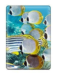 Anti-scratch And Shatterproof Butterflyfish Phone Case For Ipad Air/ High Quality Tpu Case wangjiang maoyi