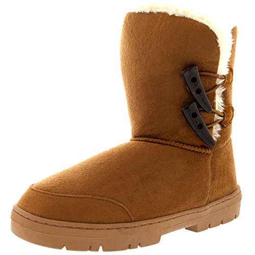 Short Invierno Mujer Nieve Twin Impermeable Botas Rain Fur Classic Marr Toggle 7Owwg4qt
