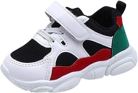 Trunlay - Zapatos para bebé, niña, niño, caricatura, osos, malla, para correr, suaves, antideslizantes, zapatillas para gatear 29EU Negro: Amazon.es: Grandes electrodomésticos