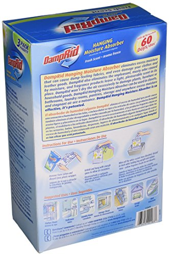 Damprid Hanging Moisture Absorber Fresh Scent 14 Oz Bags