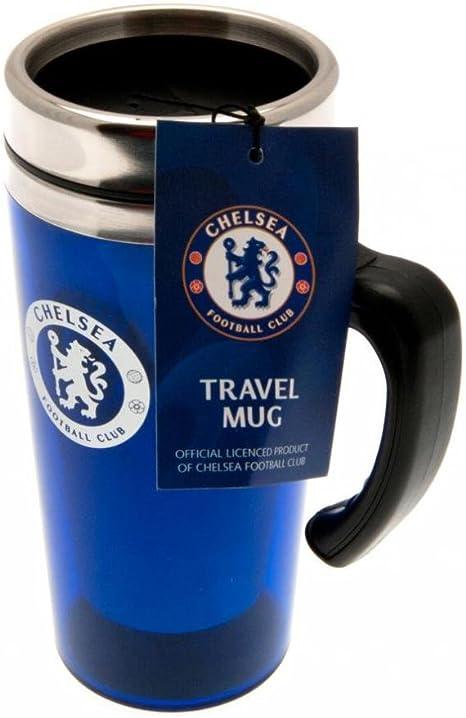 Team Unisex Travel Mug 44 Cup Logo Chelsea Football Team Sport Accessories Liverpool One Size