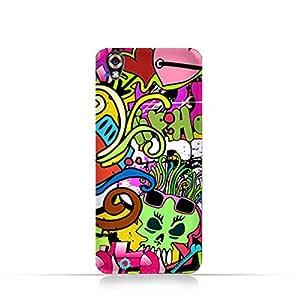 LG U TPU Silicone Case With Graffiti Hip Hop 2 Design