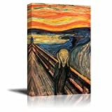 """Wall26 The Scream by Edvard Munch Giclee Canvas Prints Wrapped Gallery Wall Art 