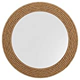 Stone & Beam Rustic Hemp Rope Mirror, 31.1'' H, Brown