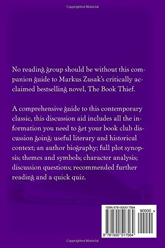 The Book Thief A Guide For Book Clubs The Reading Room Book Group