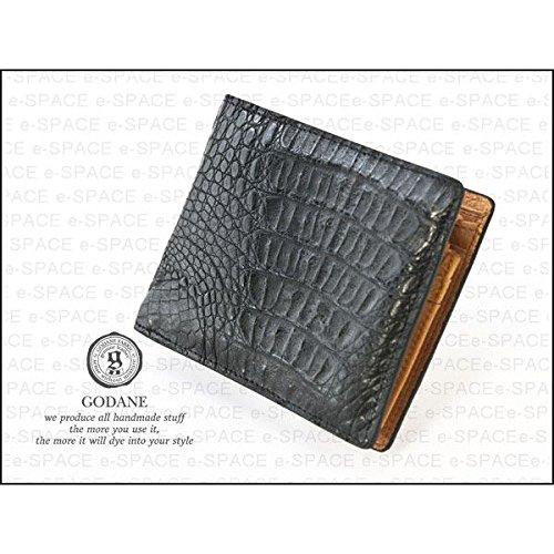 【ゴダン】 GODANEクロコダイル革二つ折財布 SPCW8007cp/財布/ウォレット/短財布 B006OI3E6Y