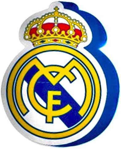 Real Madrid Cojin 3D Escudo, Multicolor, 40 x 40 cm: Amazon.es: Deportes y aire libre