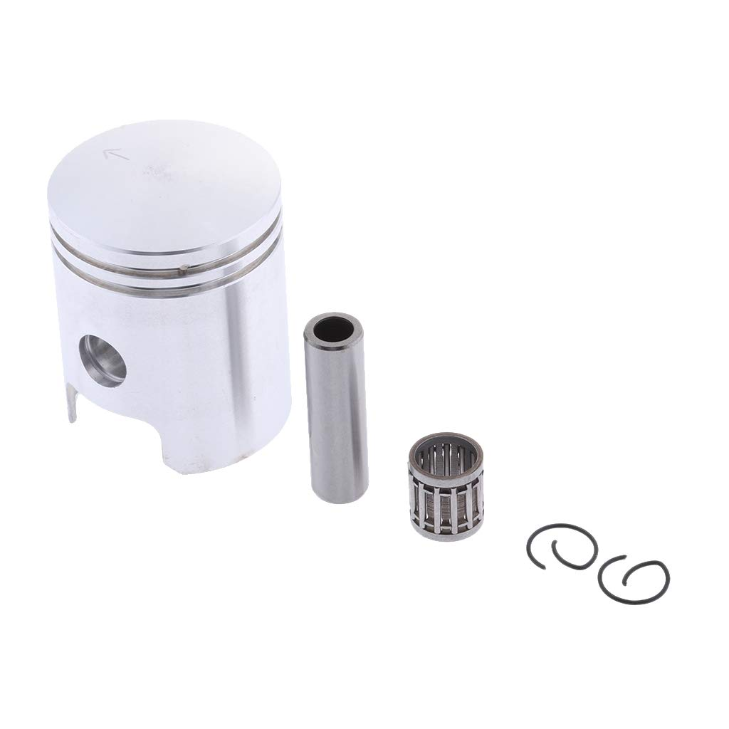 D DOLITY Motorcycle 47mm Piston Kit Replacement for Yamaha PW80 Pit Dirt Bike
