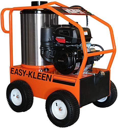 (Easy-Kleen Professional 4000 PSI (Gas - Hot Water) Pressure Washer w/ Kohler Engine & Electric Start (12V Burner))