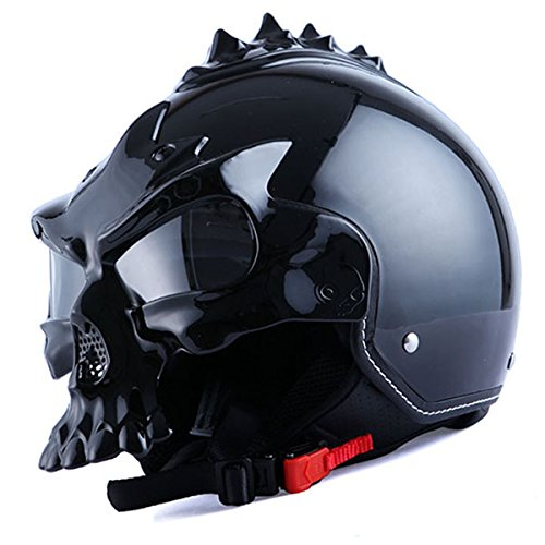 Custom Welding Helmets >> 1STorm Motorcycle Street Bike Scooter Open Face Helmet; 3D ...