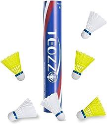 TEOZZO Nylon Badminton Shuttlecocks