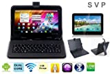 SVP ® 9 inch Dual Core Dual Camera Android 4.2 A20 Google Play Store Brand 3G Wifi HDMI New tablet series with keyboard case, Best Gadgets