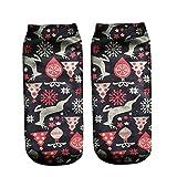 Christmas Socks For Girls,Mens Socks No Show,Socks Women Low Cut Black,Men Dress Socks,Owl Cute Casual Work Business Cotton Socks,F,Free Size