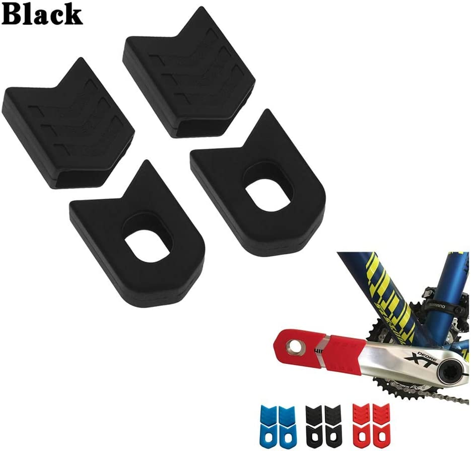 Crank Sleeve Silicone Cranksets MTB Bike Bicycle Arm Boots Protector Cover 1pair